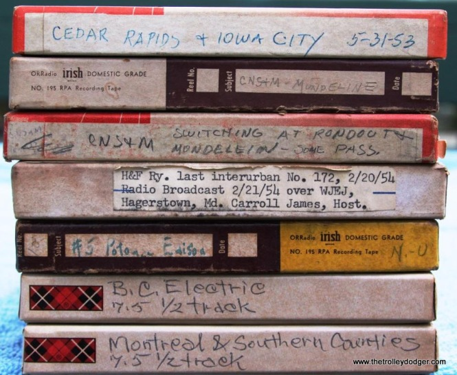 5 Lots of interesting material on these tapes