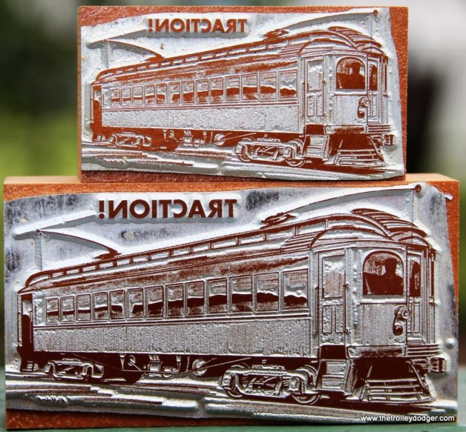 8 Interurban car fron LP Sound Scrapbook-Traction in two sizes