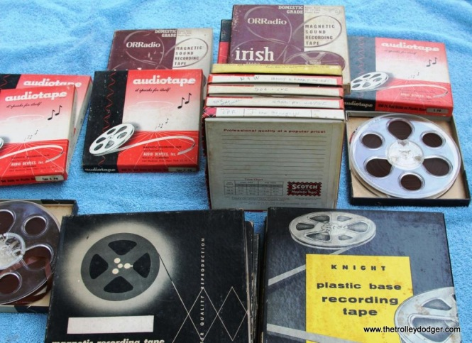 8 Steventon tapes