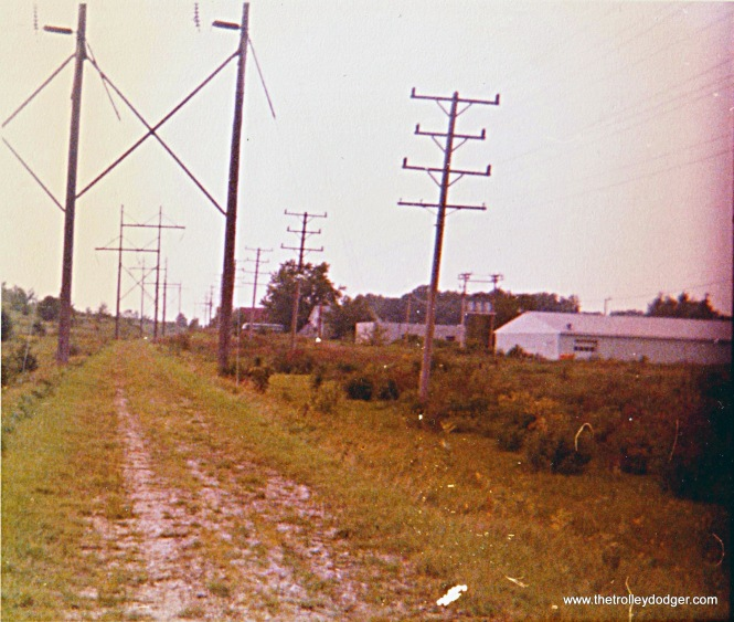 Abandoned TM r.o.w. heading toward Watertown from Oconomowoc in 1976.