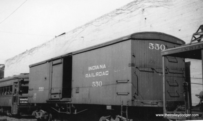 Indiana box car 550