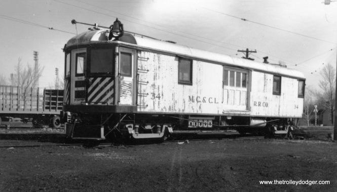MC&CL RR car 34