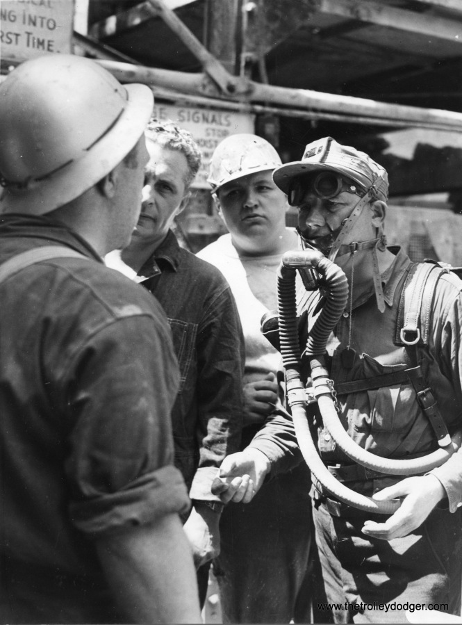 In the Loop, building the subways involved a mining operation and used similar equipment.