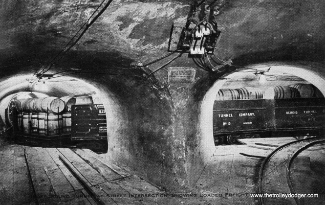 Chicago's freight tunnels.