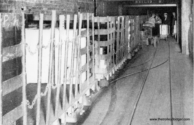 The freight tunnels were used to haul merchandise as well as coal and ashes beneath Chicago's downtown.