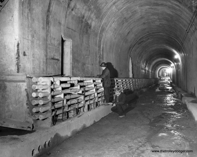 Subway construction.