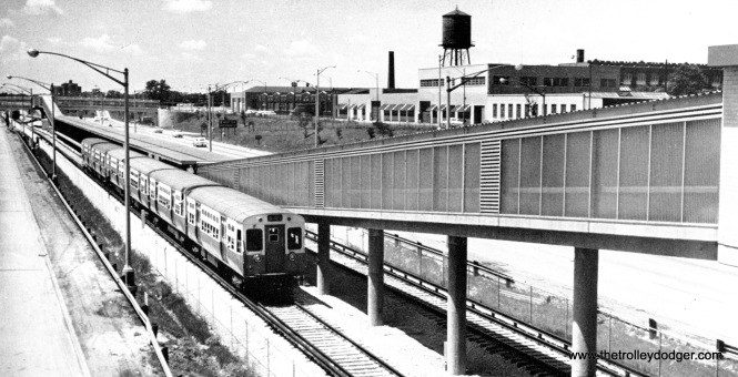 """The new Congress rapid transit line, aka the """"West Side Subway"""" as it is below grade."""