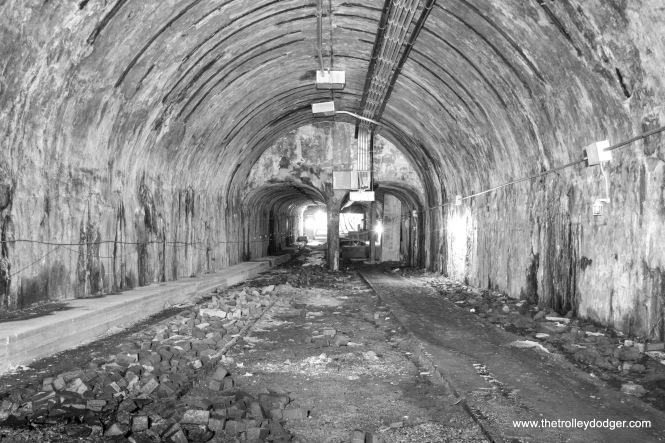 The Washington Street tunnel in 2017. (Roman Vovchak Photo)