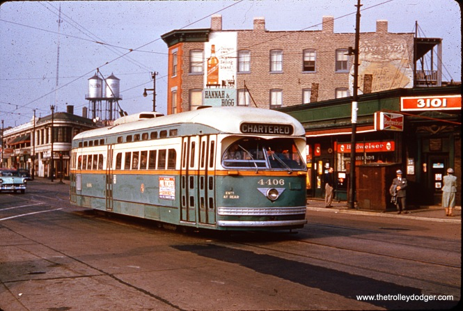 Since CTA 4406 is on a charter, this is most likely the fantrip that took place on October 21, 1956.