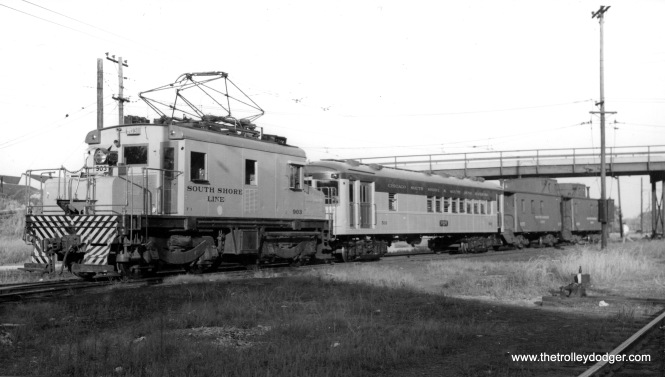 Loco #903 (ex-IC), and #503 (ex-Indiana Railroad #375.