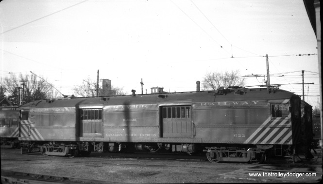 Grand River Railway (Canada) baggage car 622. (William Shapotkin Collection)