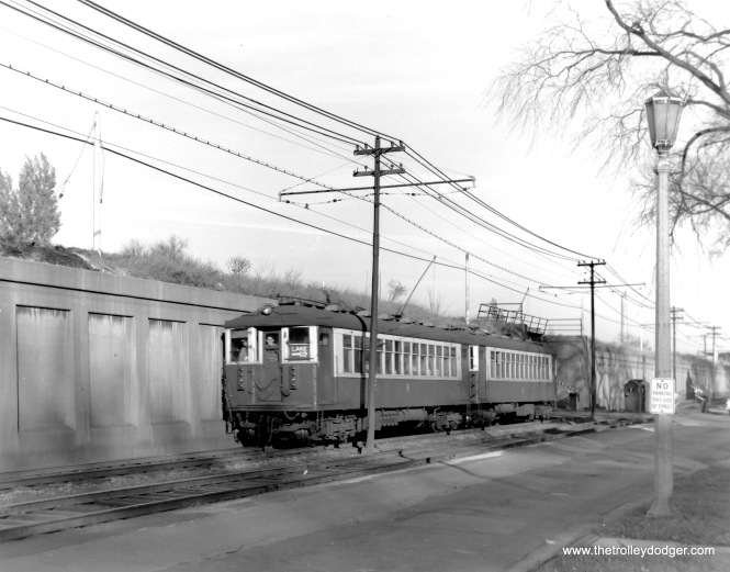 October 27, 1962 was the last day of ground-level operation on the CTA Lake Street