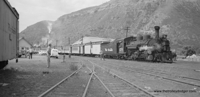 Denver and Rio Grande Western 476, which was featured on Railroad Record Club LP SP-1.