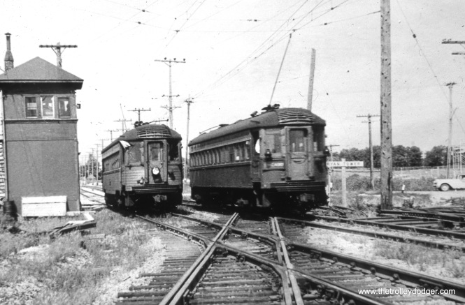 Milwaukee County, WI - A pair of CNS&M cars (the