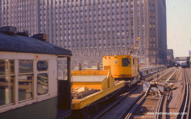The rest of the work train, in July 1971.