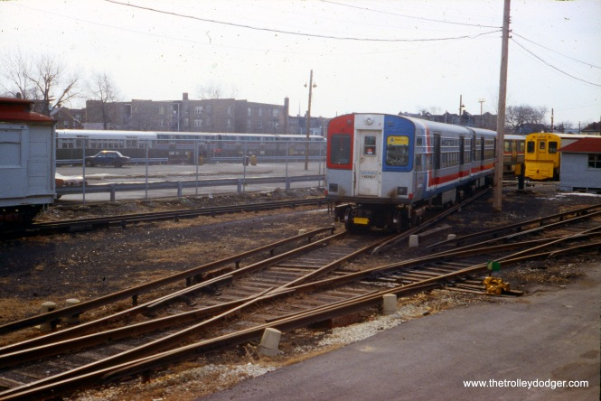 CTA 6049-6050 at Kimball Yard on March 16, 1980.