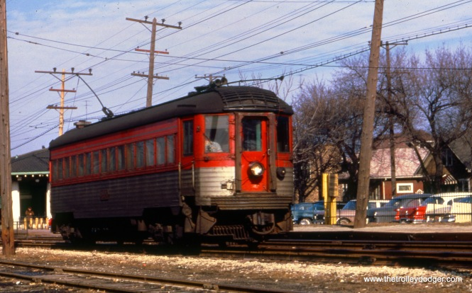 A Silverliner in Kenosha.