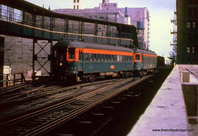 NSL 743 at an undetermined location on Chicago's