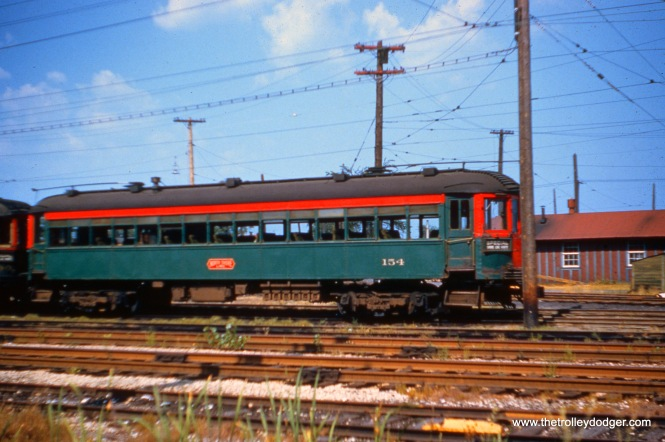 NSL 154 on August 21, 1955. Don's Rail Photos: