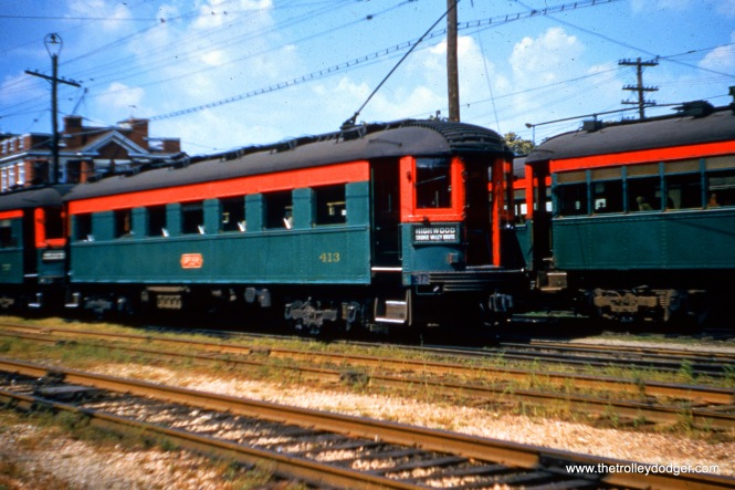 NSL 413 on August 21, 1955. Don's Rail Photos: