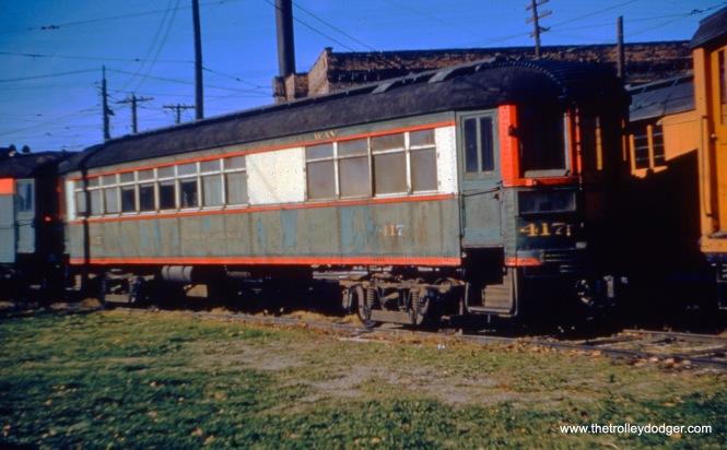 NSL 411 on November 24, 1955. Don's Rail Photos: