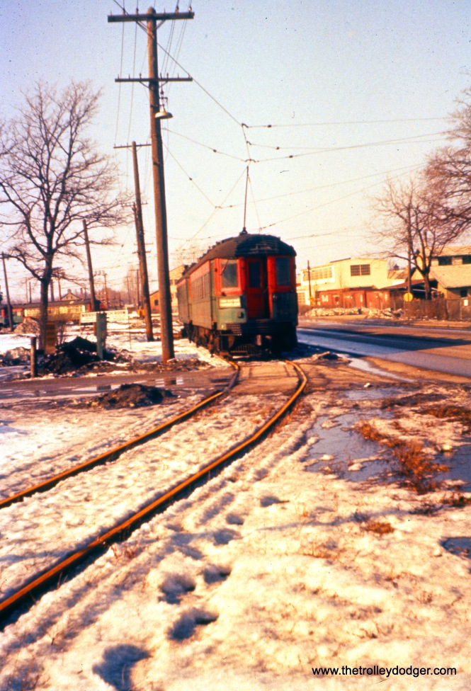 I don't know the location, but at least I can tell you this picture was taken on February 12, 1958. (Joseph Canfield Photo)