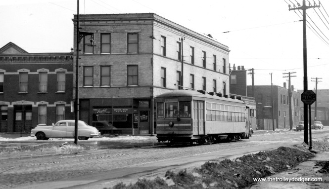 "CSL 3099. Mike: ""3099 is at the corner of Leavitt and Coulter. The corner building still stands."""