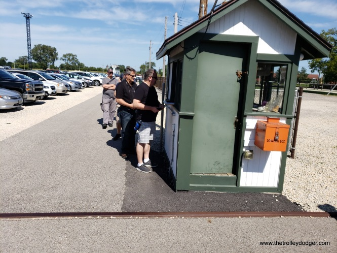 The museum ticket booth has been moved close to the new gift shop.