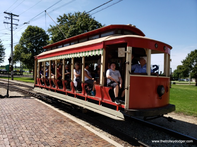 This is Veracruz, Mexico open car 19. It was acquired in 2009 from what had been the Trolleyville USA collection.