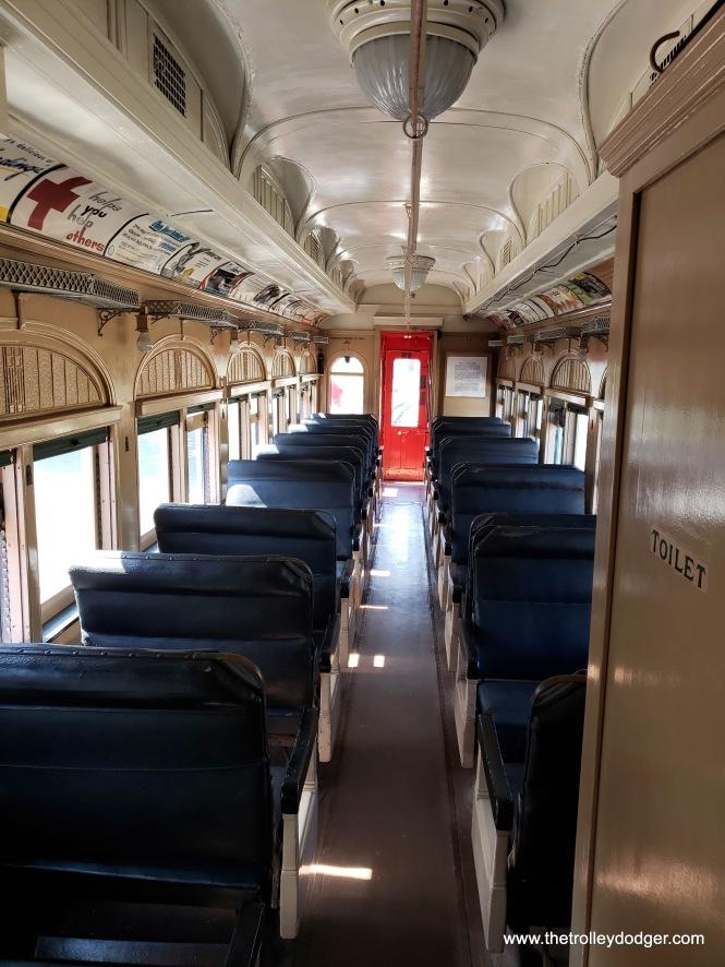 The interior of 319.