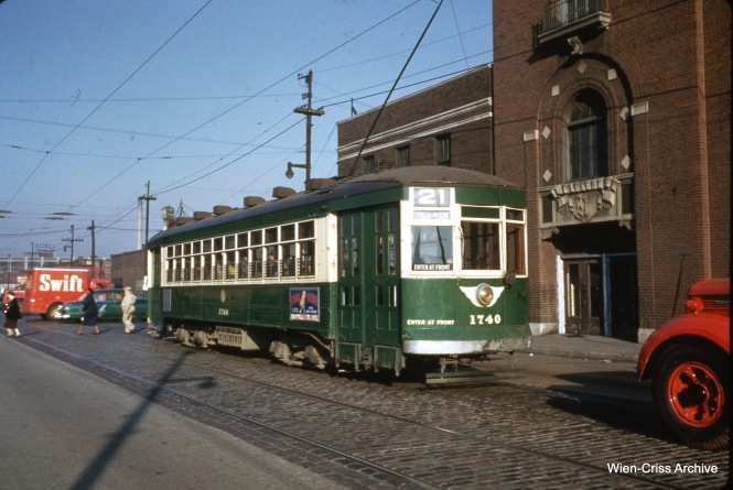 CTA 1740 at Cermak and Western on September 24, 1952.