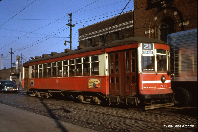 CTA 1771 at Cermak and Western on September 24, 1952.