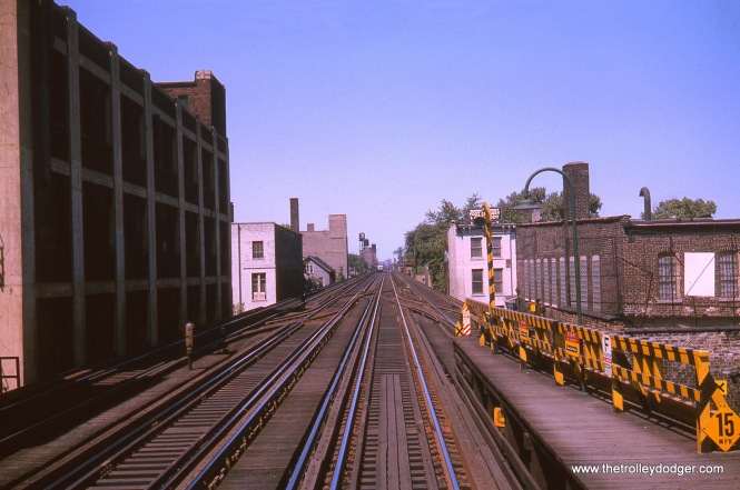 Fullerton, looking north, in August 1963.