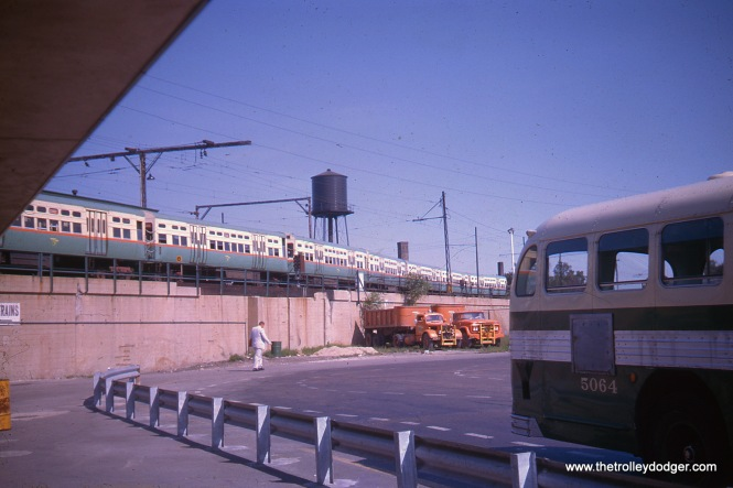 Howard Terminal, August 1963. This station was completely redone in the early 2000s.