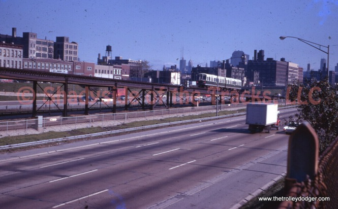 I think this one was undated, but I would guess maybe 1967 as 2000s are running on Douglas Park.