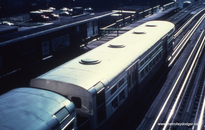 Experimental forced-air ventilation on a CTA 6000. Not sure if you could open the windows on this car or not.