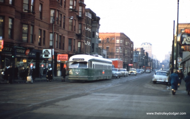 CTA 7217 on Route 36 - Broadway-State. (Robert W. Gibson Photo)