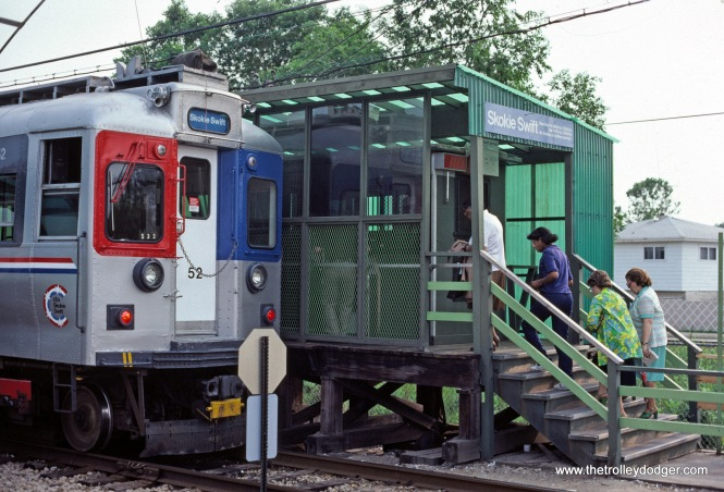 CTA 52 Skokie Swift Dempster Terminal 7-1981