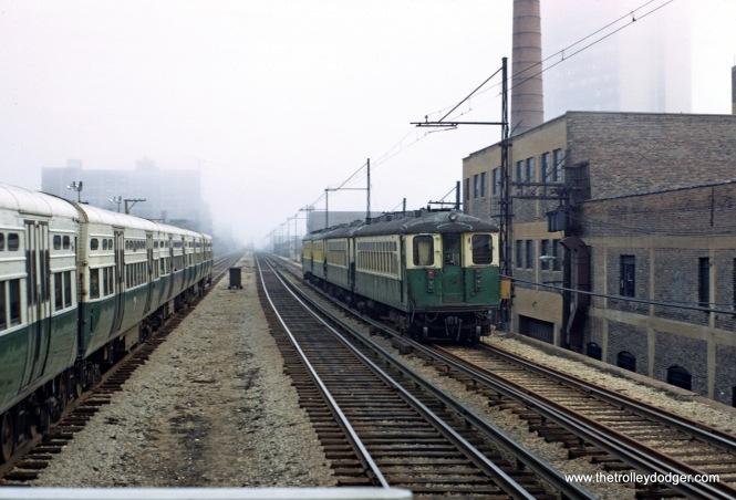 CTA 4000 series Evanston Express Southbound 5-1970