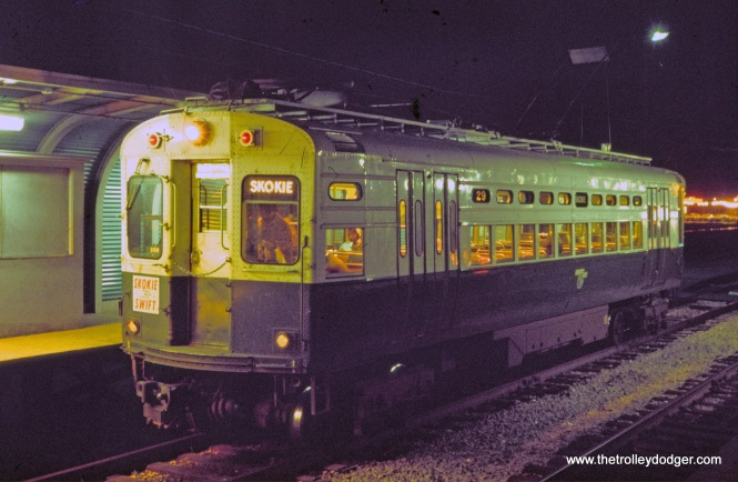 CTA 29 Skokie Swift Dempster Terminal 11-1969