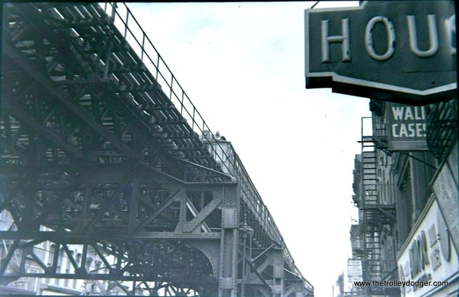 The Third Avenue El in 1955.