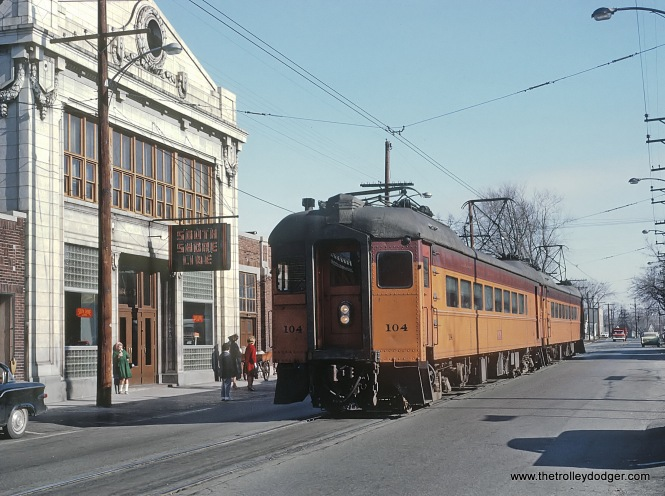 CSS&SB 104 in Michigan City, IN on January 27, 1964