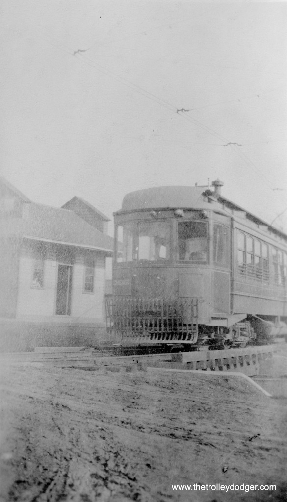 A Chicago & Interurban Traction Company car. This line operated between 63rd and Halsted and Kankakee, and was abandoned in 1927, due to increased competition from the Illinois Central Electric.