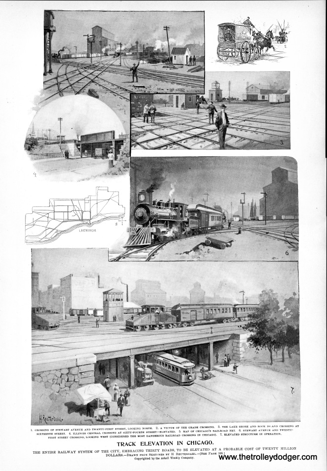 "From the September 20, 1894 Leslie's Weekly. There is a link to the article ""Track Elevation in Chicago"" in the introduction to this post."