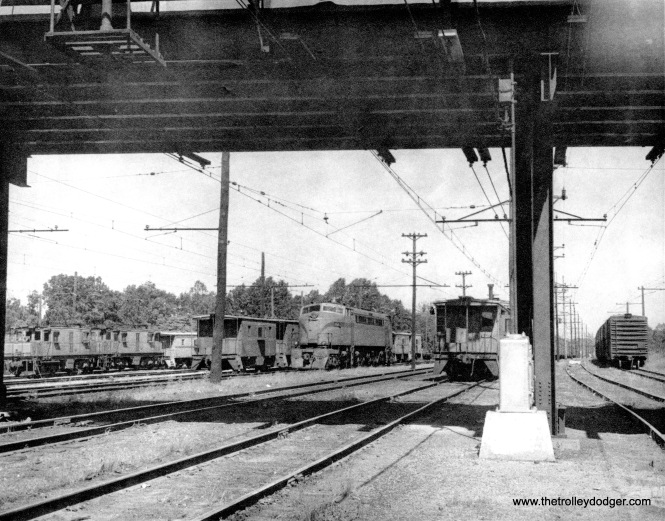 I assume this is the South Shore yards at Michigan City.