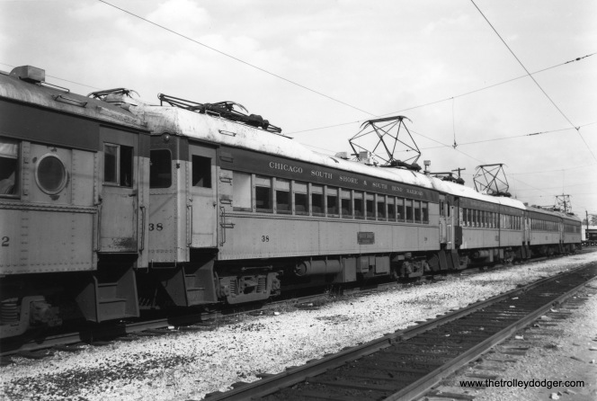 South Shore Line car 38.