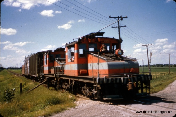 CA&E 2001 and 2002 at Wayne on June 29, 1957.